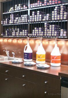 Salon Cabochon at Arden Hills: Salon Design by Leslie McGwire, via Behance
