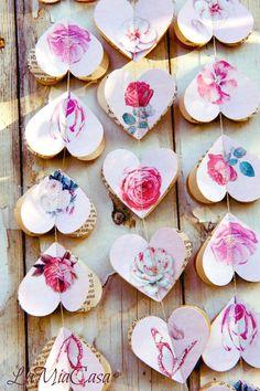 Valentine's Day garland, Valentines, Valentine, wedding garland Baby shower Baby Girl Nursery Decor Hearts garland Pink roses Flower garland