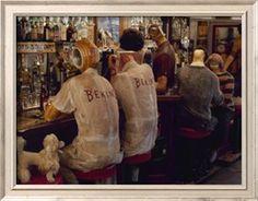 """Biertje na het sporten. Ed Kienholz's Assemblage """"The Beanery"""". Binnenkort weer in het @Stedelijk Museum. #collectievissen"""