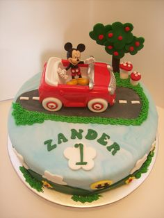Mickey Mouse Cake....$180