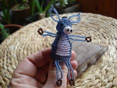 http://www.etsy.com/shop/BeautyBeadwork?ref=search_shop_redirect Siting bead animal - Nice Donkey