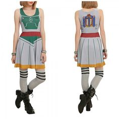 This New Boba Fett Dress By Her Universe Is Ready For Anything