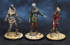 Zombicide black plaque, zombies