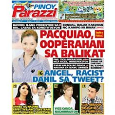 Pinoy Parazzi Vol 8 Issue 57 May 06- 07, 2015 http://www.pinoyparazzi.com/pinoy-parazzi-vol-8-issue-57-may-06-07-2015/