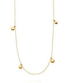 Astley Clarke Long Gold Vermeil Sonatina Disc Necklace | Jewellery by Astley Clarke | Liberty.co.uk