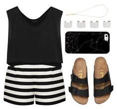 """""""Untitled #1552"""" by katerina-rampota ❤ liked on Polyvore featuring Forever New, Kiki de Montparnasse, Casetify, Maison Margiela and River Island"""