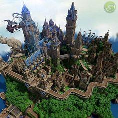 minecraft medieval | Halion Minecraft Medieval City Download