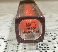 Maybelline Velvet Matte by Color Sensational MAT 5 Review