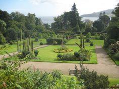 The gardens at Brodick Castle • Isle of Arran • Scotland, UK