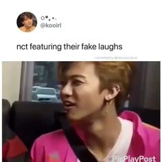 Jaemin's fake laugh is iconic! Nct 127, Extended Play, Grupo Nct, Day6 Sungjin, Johnny Seo, Nct Group, Nct Dream Jaemin, All Meme, Young K