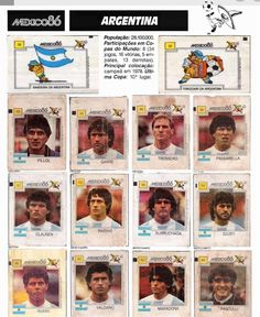 Football Stickers, Soccer, Movie Posters, World Cup, 1980s, Argentina, Princesses, Chewing Gum, Futbol