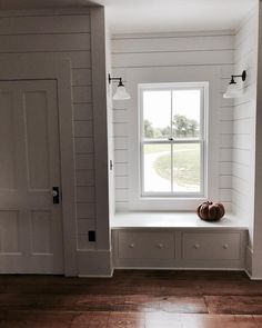"""""""porch lights"""" on both sides of reading nook"""
