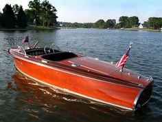 Chris Craft 1941 Barrel Back - maybe someday...much more glam than the one we have now.