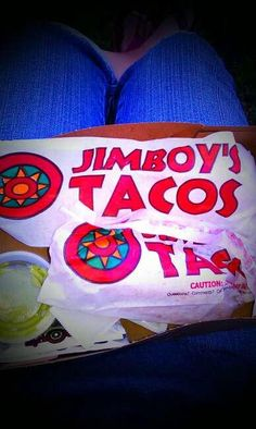 @hipdawnie Don't drive and eat Jimboy's at the same time.
