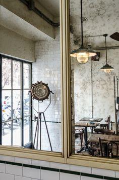 """La Zanzara"" Restaurant, Bistrot in Zona Prati, Roma design and made by RPM Proget Photos by Alessandro Maggi  www.rpmproget.it"