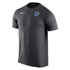 9f4ed85ee Memphis Tigers Nike 2017 Coaches Dri-FIT T-Shirt - Anthracite