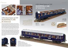Simplon Orient Express, 3d Software, Sleep, Train, Model, Scale Model, Strollers, Models