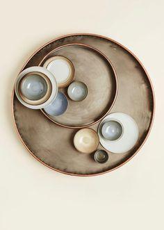 circles of ceramics