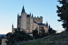 Alcázar de Segovia visto desde el pinarillo.