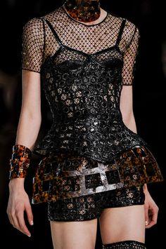 Alexander McQueen at Paris Fashion Week Spring 2013 - StyleBistro