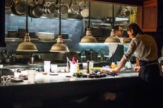 The Kitchen Pass at Tosca