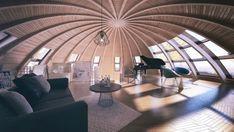 Logements sphériques de Skydome - Journal du Design