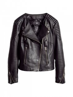 Black Leather Jackets For Girls