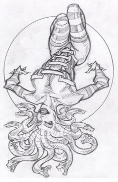 sexy medusa by ~sidewinder72 on deviantART