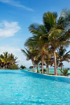 Melia Zanzibar - Zanzibar, Tanzania - At the heart of the resort is an enormous, lounger-dotted pool and snack bar.