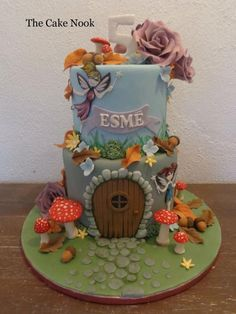 Fairy Door Cake. by Zoe Robinson