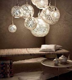 Lampes egyptiennes