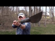 DIY Survival Walking Stick Spear