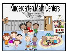 Kindergarten Math Centers and Number Talks
