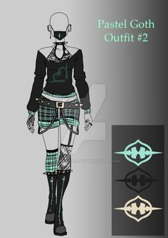 (OPEN) Auction Adopt - Cancer Outfit by CherrysDesigns on DeviantArt