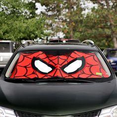 Spider-Man Windshield Sunshade