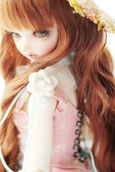 Erin as a doll @Erin B B Budge