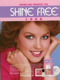 Shine Free makeup by Maybelline--80's  Deborah_Foreman_2.jpg Photo:  This Photo was uploaded by RetroDame. Find other Deborah_Foreman_2.jpg pictures and photos or upload your own with Photobuc...