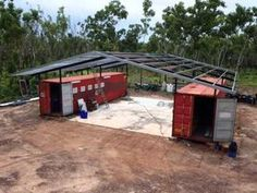 NT Field & Game roof structure - YouTube