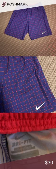 "New Men's Nike Dry Fit Shorts Condition is new. Velcro back pocket. Two side pockets. Roughly 18"" in length. Draw string on the inside. No trades Nike Shorts Athletic"
