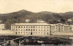 GENOVA - Marassi, le carceri - FOTO STORICHE CARTOLINE ANTICHE E RICORDI DELLA LIGURIA