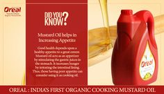 Does your child have low appetite? Then you need to add mustard oil in your daily diet.
