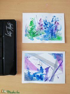 Ez a két akvarell festmény tökéletes dísze lehet otthonunknak. Színei révén azonnal magára vonzza a tekintetünket. Jól harmonizáló színeivel együttesen feltűnő éke lehet lakásodnak.   Egy kép mérete 13 x 18 cm, akvarellpapírra készítettem őket akvarellfestékkel. Techno, Polaroid Film, Photo And Video, Diy, Instagram, Do It Yourself, Bricolage, Handyman Projects, Diys