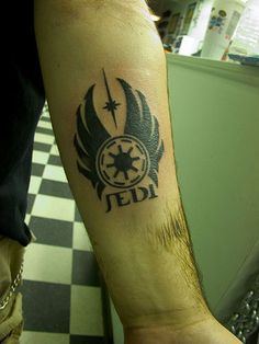 I'd leave out the 'Jedi' because it has the empire logo but it's still awesome