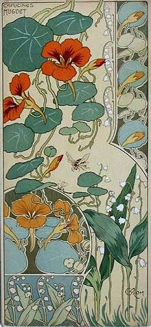 Plant Botany Art Nouveau Version