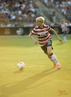 Megan Rapinoe staying gold. on Flickr.USWNT vs China: One of my favorite shots from the match.