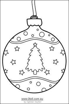 christmas baubles templates to colour - free print shape star template sher 39 s creative space