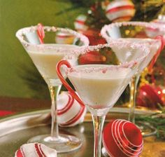 I had a peppermint martini for the first time at a Christmas party Saturday night and it was delicious!! Give this one a try over the weeken...