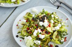 Grilled Courgette Salad - A recipe by Thomasina Miers