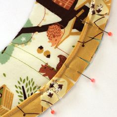 How to make and sew with piping...beautiful picture tutorial