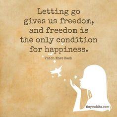 Letting Go Gives Us Freedom Announcement: Tired of feeling stuck? Let go of the past and create a life you love with the Tiny Buddha course! Getting to Know Yourself, What You Like, and What You Want in Life  By Jade Yap